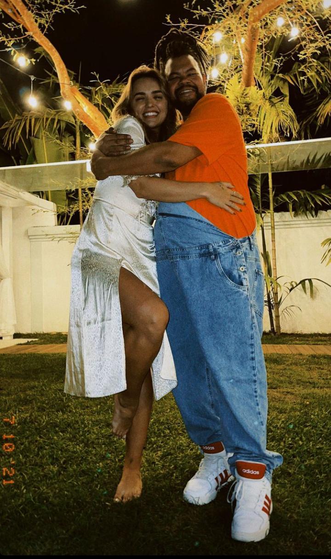 Babu Santana e Rafa Kalimann