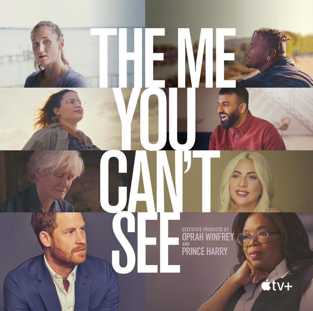 Cartaz da série The Me You Cant See (Foto: Divulgação/AppleTV)