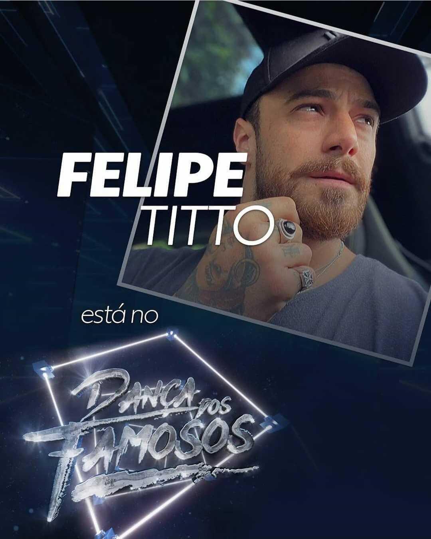 Felipe Titto está no Dança dos Famosos