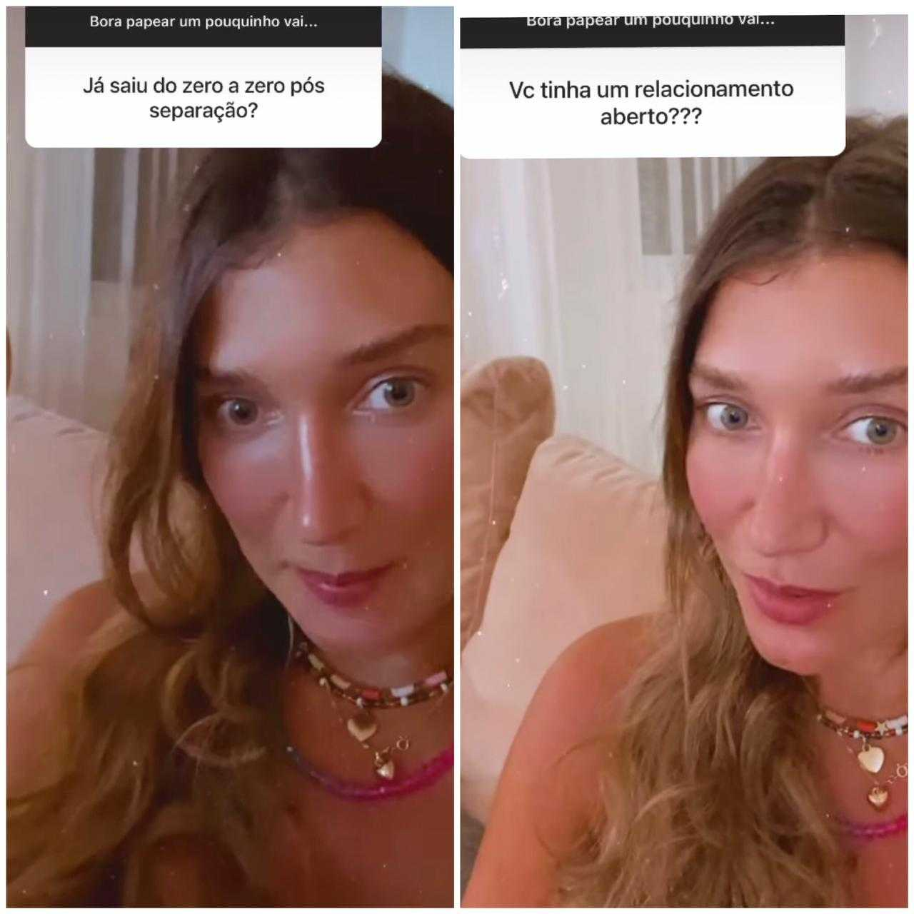 Após separação, Gabriela Pugliesi nega rumores de relacionamento aberto (Foto: Reprodução/Instagram)