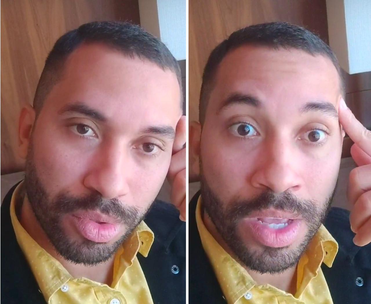 """Gil do Vigor fala como está se sentindo após sair do 'BBB21': """"Muito feliz por tanto carinho"""" (Foto: Reprodução/TV Globo)"""