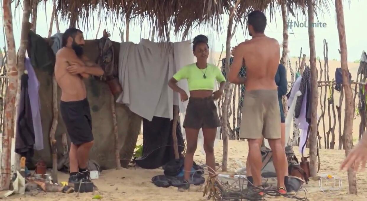 Gleici comenta desentendimento com André no 'No Limite': 'Ele desmereceu a tribo' (Reprodução/TV Globo)