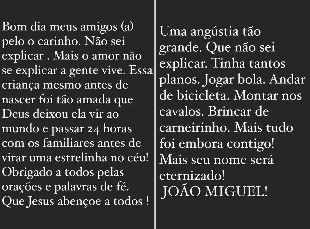 Pai de Whindersson sobre João Miguel: