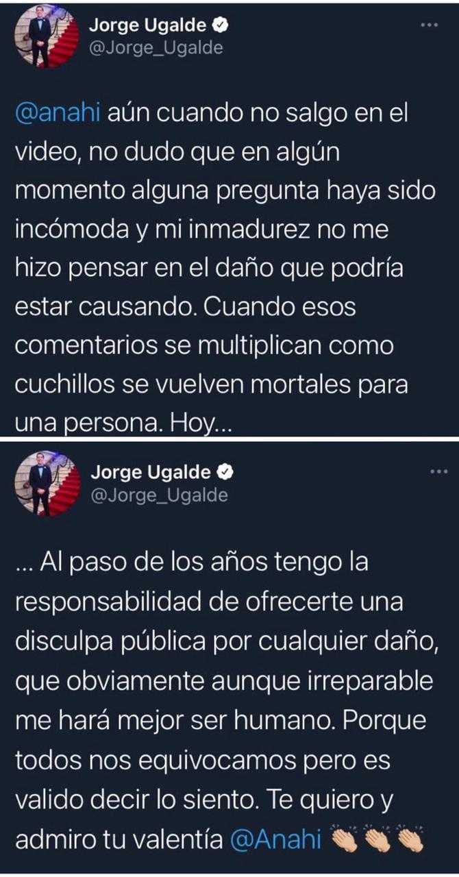 Anahí denuncia bullying e apresentador pede desculpas (Foto: Reprodução/Twitter)