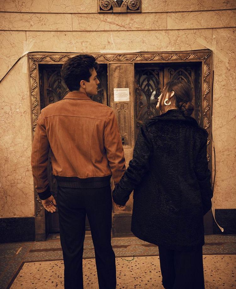 Luan Santana e Natalia em gravação do clipe