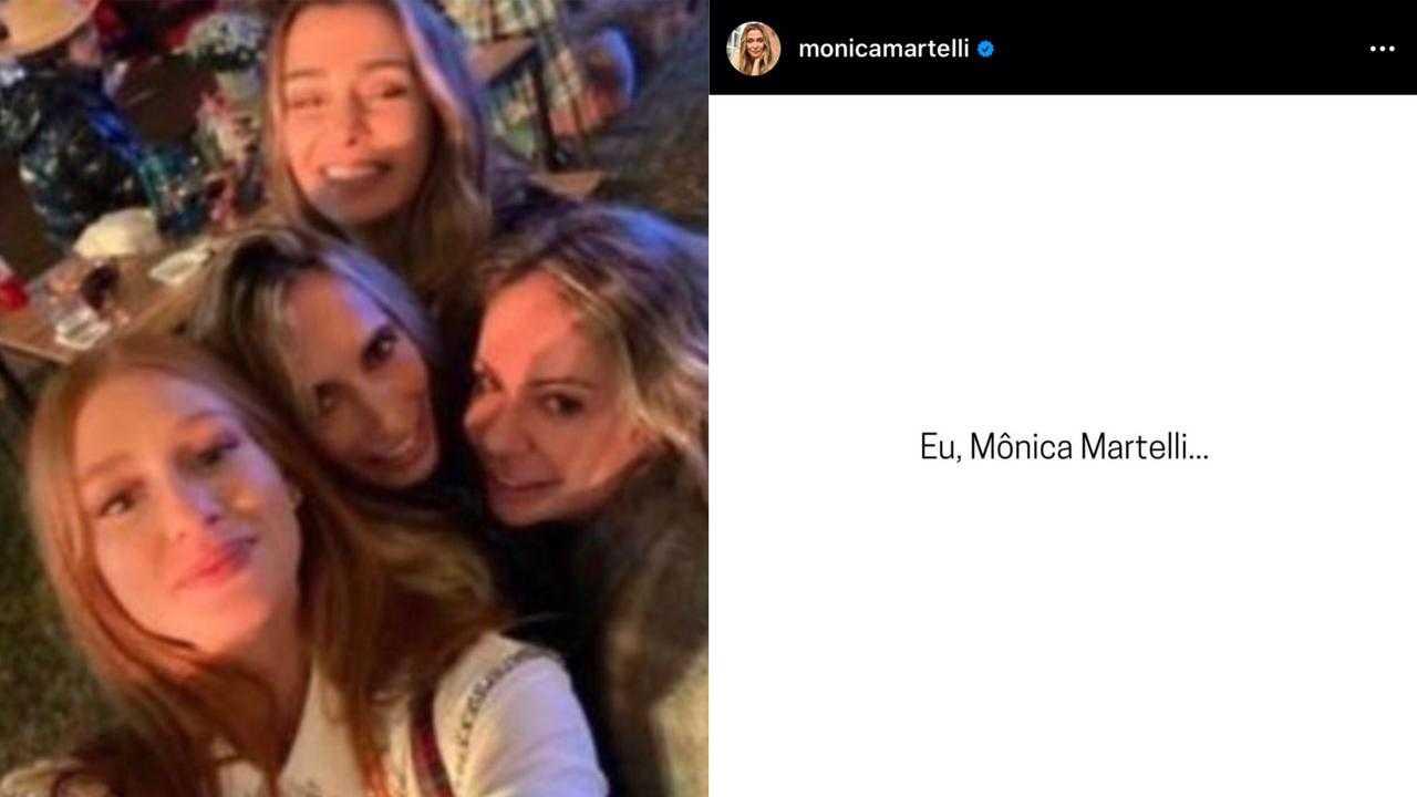 Mônica Martelli se desculpa após ir em festa com 50 pessoas: 'Errei' (Foto: Reprodução/Instagram)
