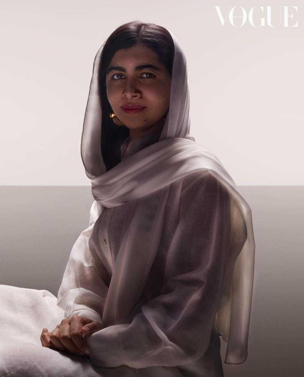 Malala para a Vogue