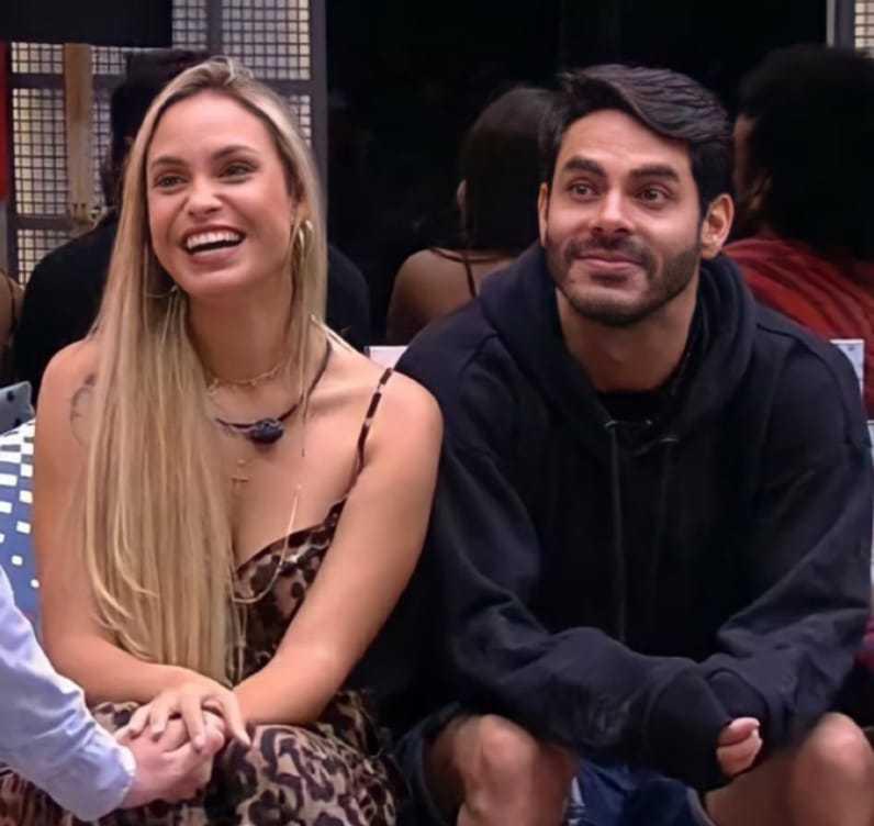 Sarah e Rodolfo (Reprodução/TV Globo).