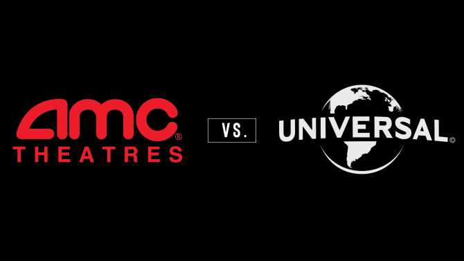 Logo da AMC e da Universal. (Foto: Reprodução / Indie Wire)