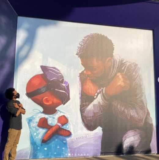 A imagem do ator está registrada na Disney. (Reprodução/Instagram)