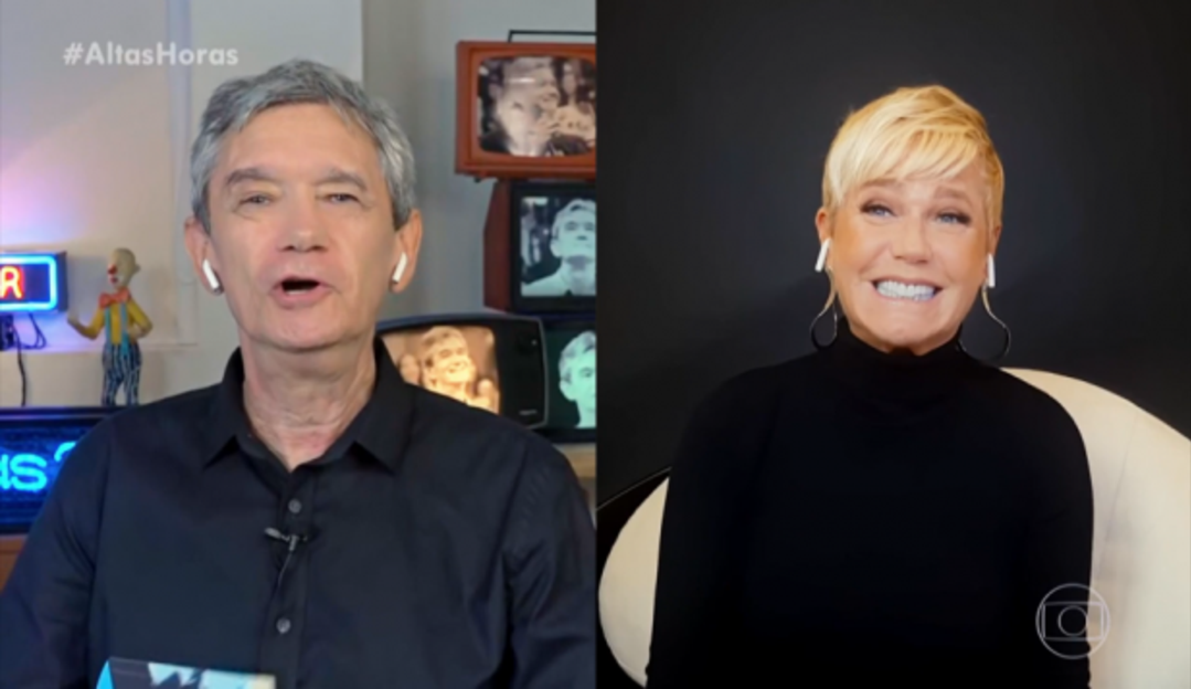 Xuxa relembra namoro com Ayrton Senna em entrevista