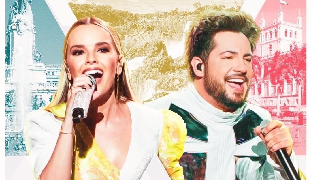 Thaeme e Thiago apresentam live show no Marco das Três Fronteiras