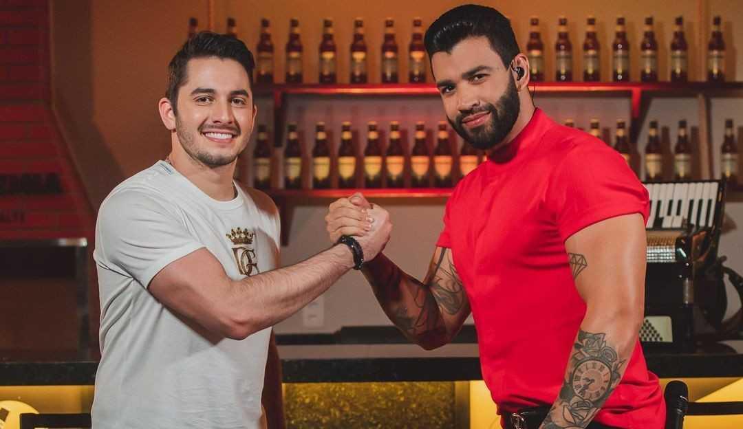 Jonas Esticado fala sobre sua relação com Gusttavo Lima