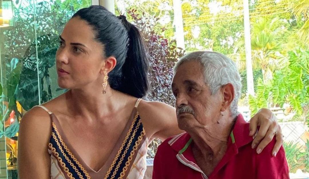 """Graciele Lacerda fala sobre morte do sogro: """"É como se perdesse o chão"""""""