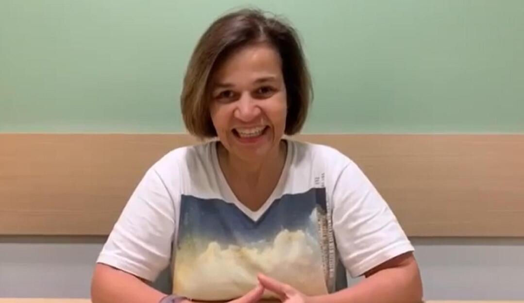 Claudia Rodrigues está internada em São Paulo