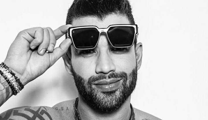 Gusttavo Lima exibe tanquinho em sua conta do Instagram