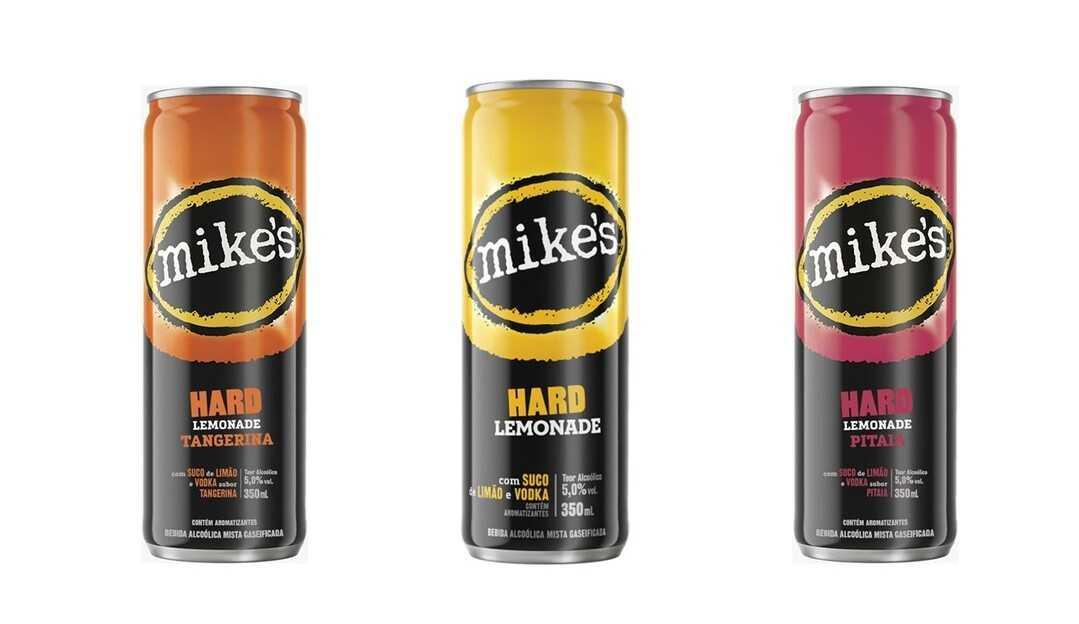 Ambev lança Mike's, nova bebida mista com dois sabores exclusivos para o Brasil