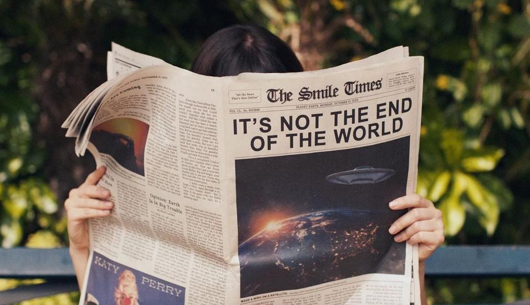"""Katy Perry está de volta com mais um lançamento, """"Not The End of The World"""""""