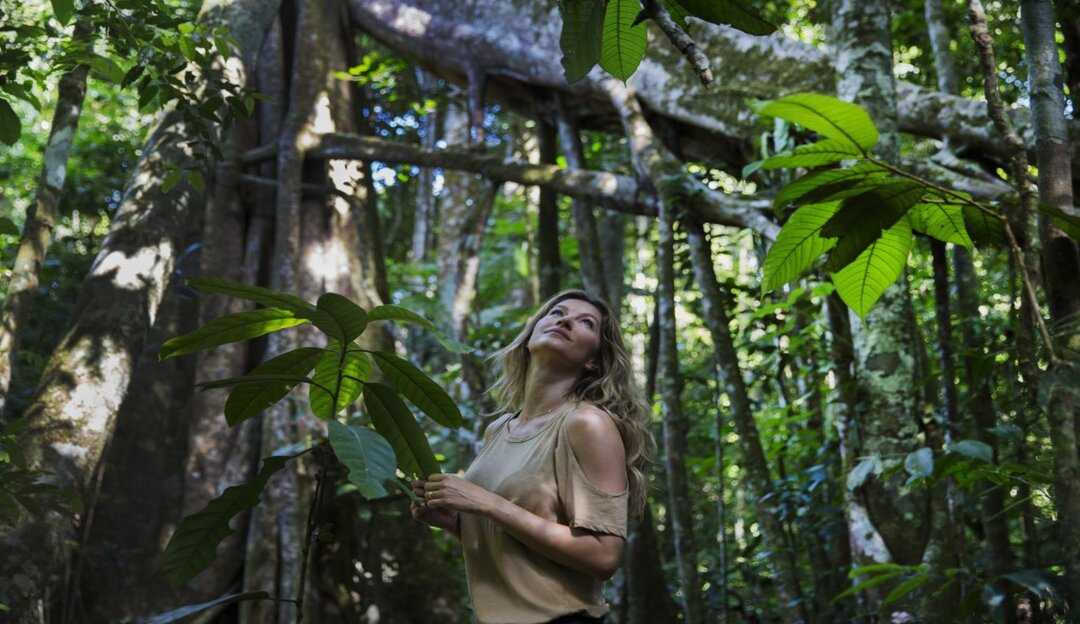 Gisele Bündchen faz post para celebrar Dia da Amazônia