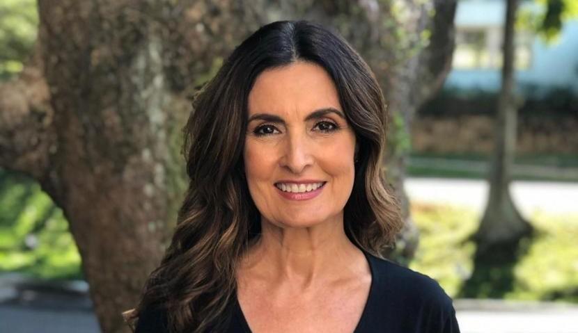 Fátima Bernardes se emociona com sua volta ao programa 'Encontro'