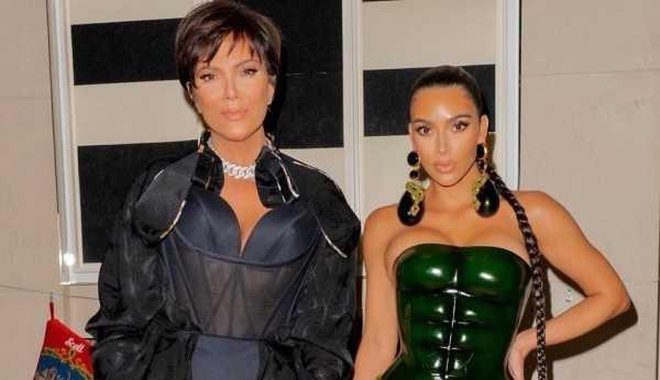 Segundo jornal britânico, Kim Kardashian pediu o divórcio por influência de sua mãe