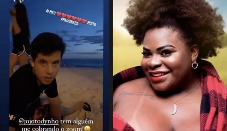 Jojo Todynho cumpre promessa e realiza desejo de Romeo, filho de Marcos Mion, com chamada de vídeo