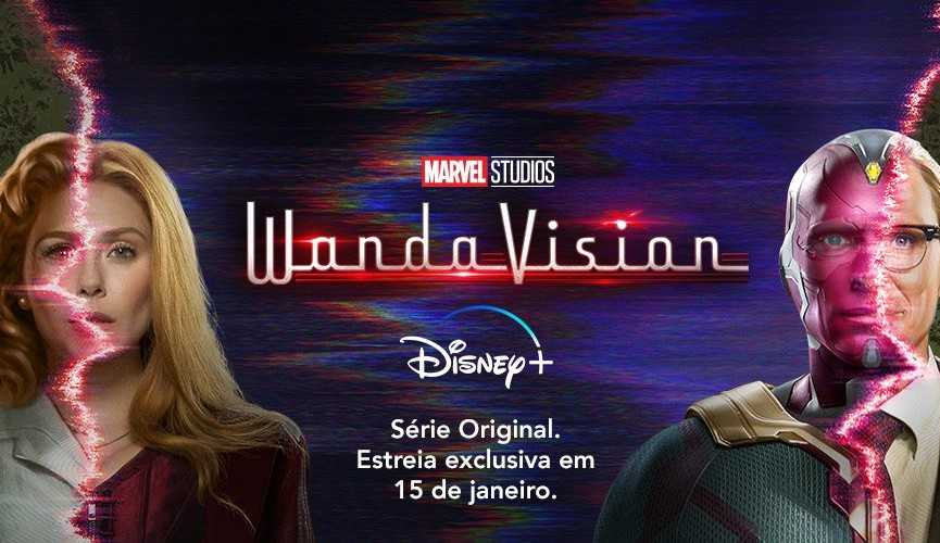 WandaVision, primeira série original da Marvel, chega ao Disney+ nesta sexta-feira.