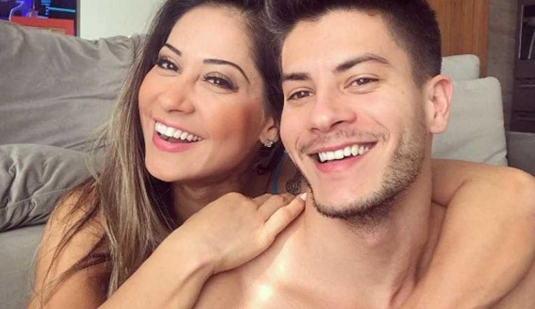 Mayra Cardi fala sobre voltar com Arthur Aguiar