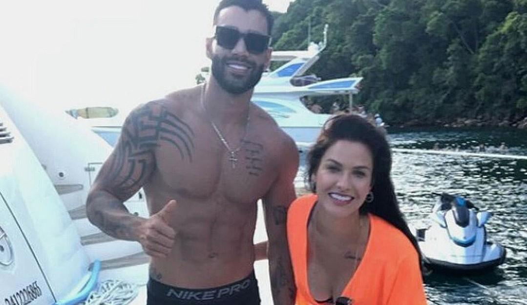 Reataram? Gusttavo Lima e Andressa Suita estão juntos no Rio de Janeiro