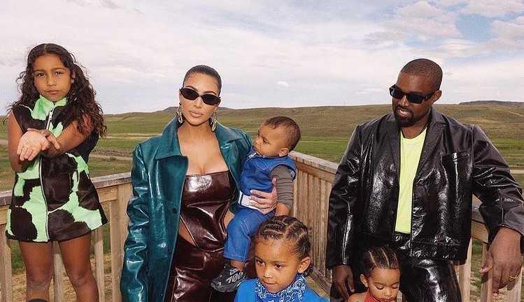 Kim Kardashian e Kanye West em processo do divórcio