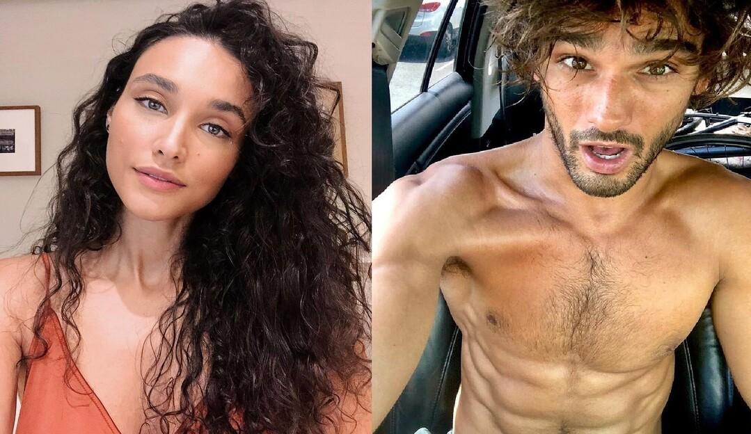 Débora Nascimento e Marlon Teixeira, ex de Marquezine, viajam juntos para Bahia
