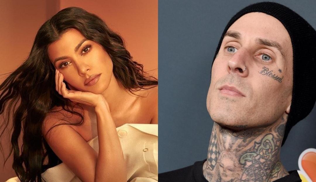 Kourtney Kardashian posta primeira foto com Travis Barker