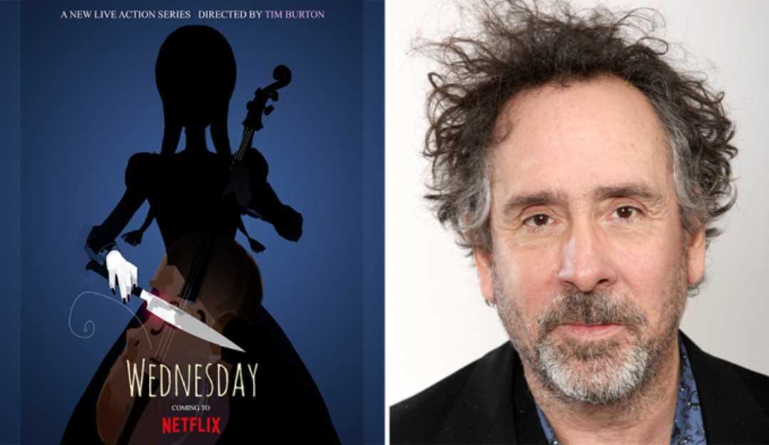 Wandinha Addams ganha série na Netflix com Tim Burton na direção