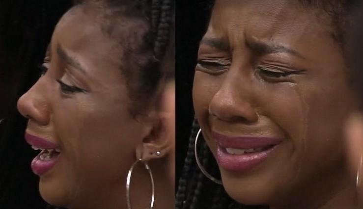 """Camilla de Lucas chora por conta de discussão com Karol Conká: """"Não quero sair como mentirosa"""""""