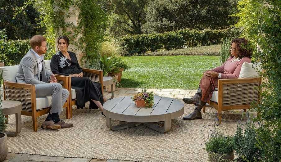 Durante entrevista, Oprah Winfrey questiona Meghan Markle: 'Você ficou em silêncio ou foi silenciada?'