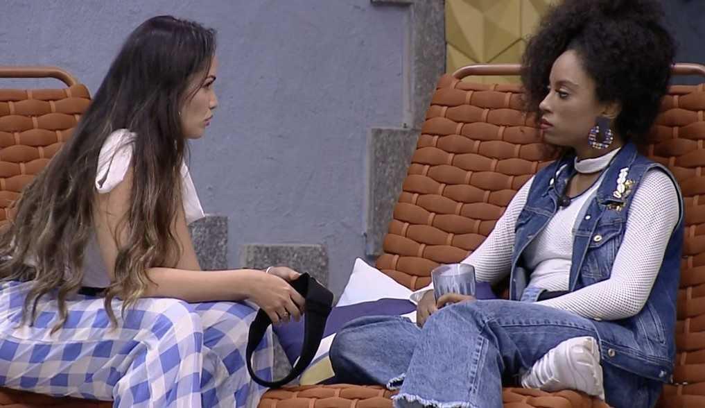 """Juliette e Lumena conversam após jogo da discórdia: """"Não vim aqui para ser oportunista"""""""