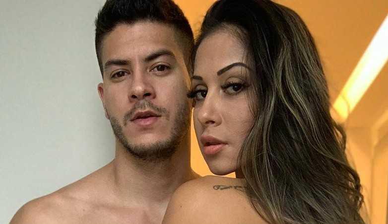 Mayra Cardi faz declaração em aniversário de Arthur Aguiar: 'Sigo te amando'
