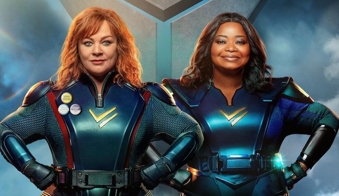 Netflix libera trailer de Esquadrão Trovão, com Melissa McCarthy e Octavia Spencer