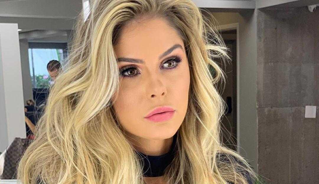 Bárbara Evans responde comentários após apoiar o casal Luísa Sonza e Vitão