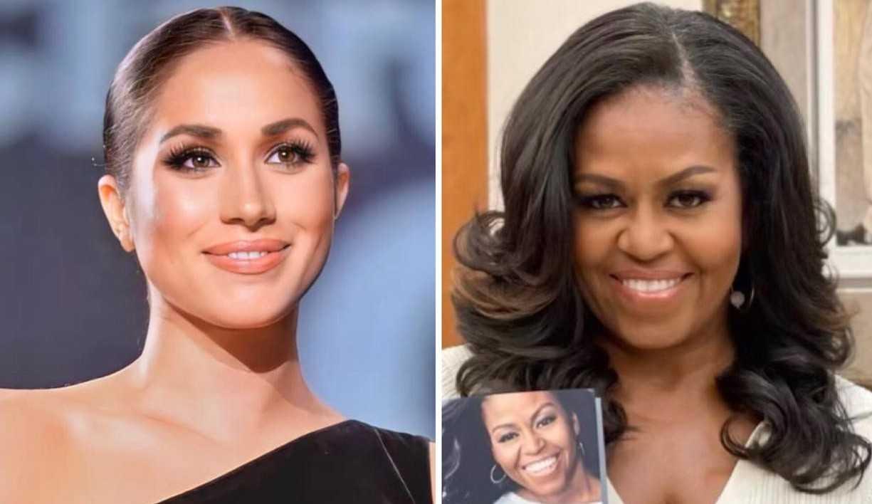 Michelle Obama reage às acusações de racismo da Família Real Britânica feitas por Meghan Markle
