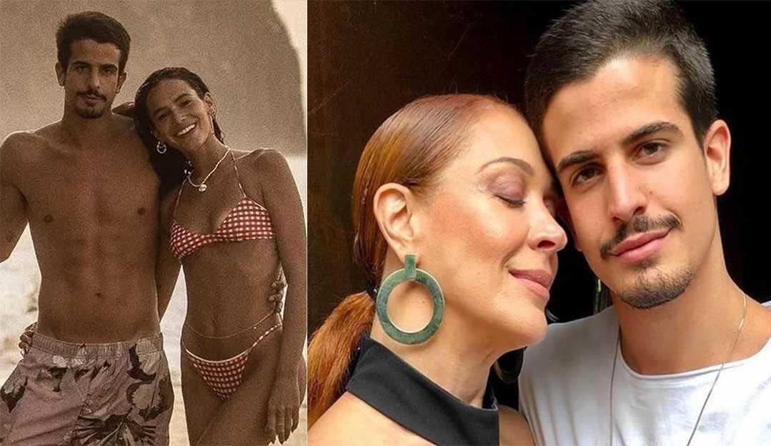 Cláudia Raia revela romance entre Enzo e Bruna Marquezine