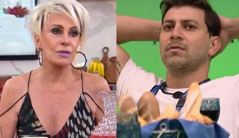 Ana Maria Braga comenta frase de Caio sobre Juliette: 'Mal sabe ele, né ?'