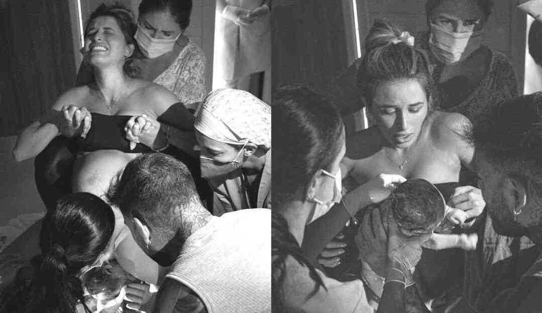 Lorena Carvalho dá seu relato de parto do seu primeiro filho com Lucas Lucco