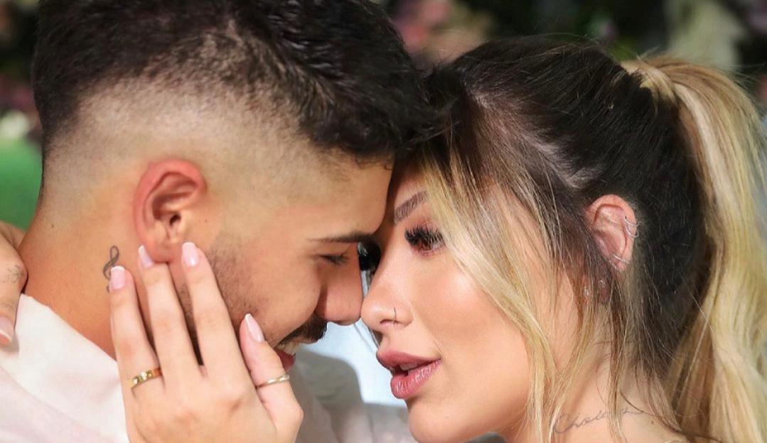 Virginia Fonseca oficializa união com Zé Felipe: 'Me casei com o amor da minha vida'