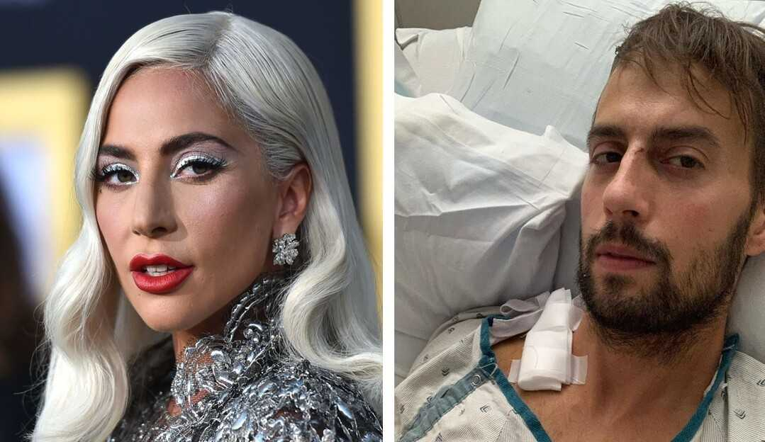 Passeador de cães de Lady Gaga tem alta médica após perder parte dos pulmões