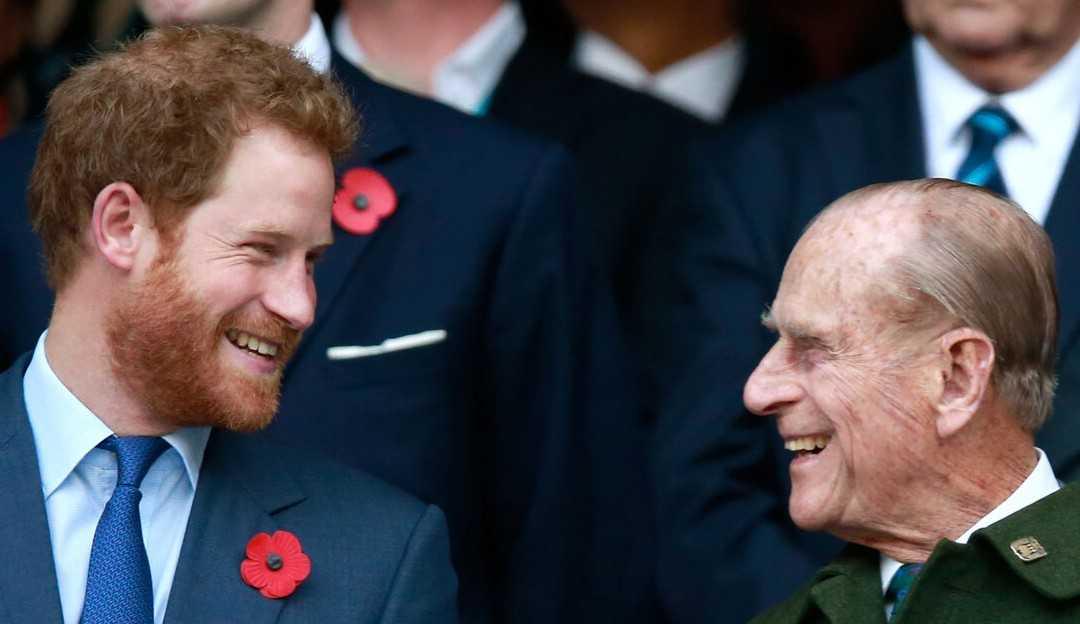 Após morte de príncipe Philip, Príncipe Harry publica declaração em lembrança ao avô