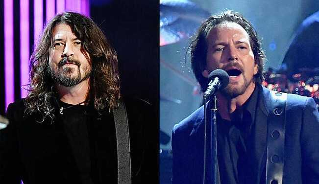 Eddie Vedder e Foo Fighters vão se apresentar em festival para incentivar vacinação contra COVID-19
