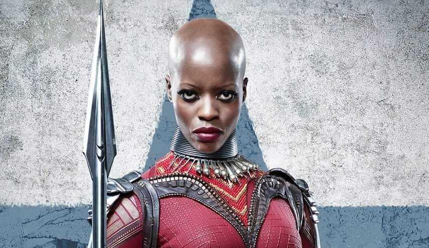 Florence Kasumba, de Wakanda, é o novo rosto do poster de 'Falcão e o Soldado Invernal'