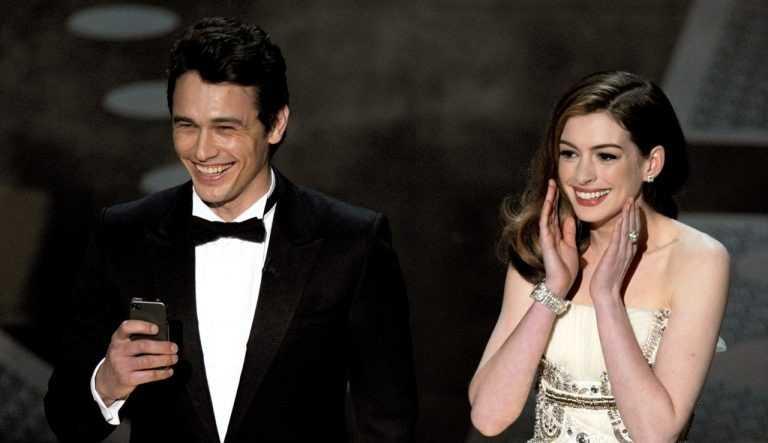 Roteiristas revelam desavenças entre James Franco e Anne Hathaway nos ensaios para apresentação criticada do Oscar