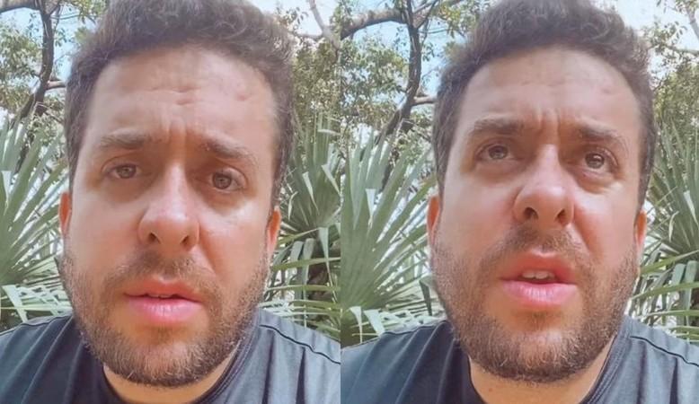 Pai de Mauricio Meirelles é intubado com Covid e humorista desabafa: 'Estou vivendo uma luta